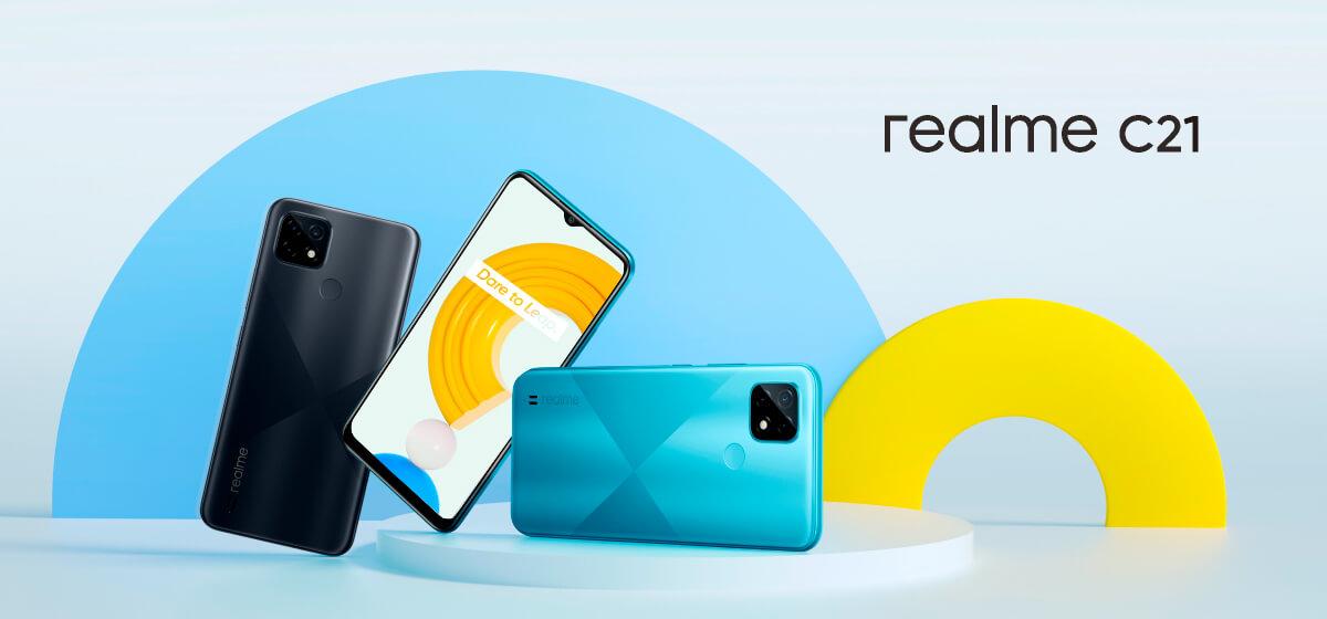 Смартфон Realme C21 4/64